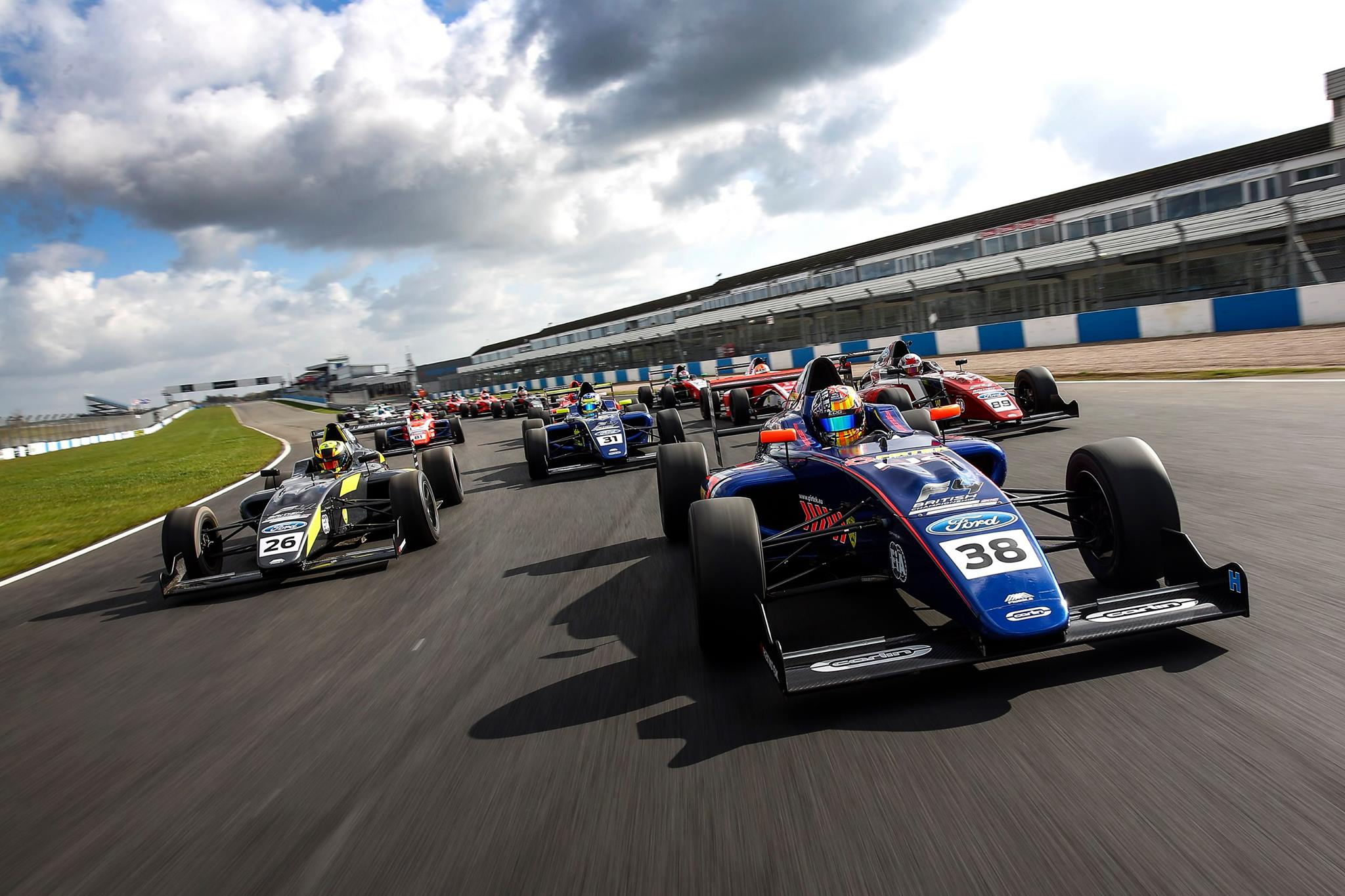 F4 BRITISH CHAMPIONSHIP CERTIFIED BY FIA POWERED BY FORD Mygale Cars