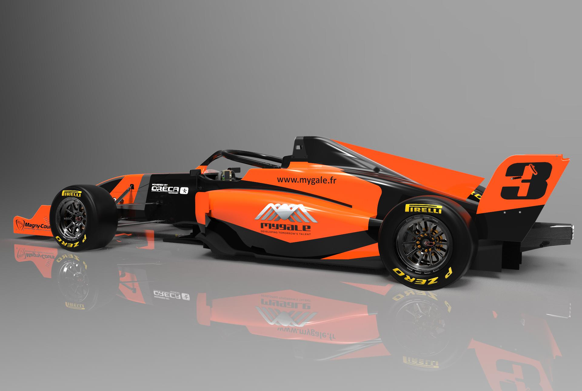 MYGALE RETURNS TO FORMULA 3 ! - Mygale Cars