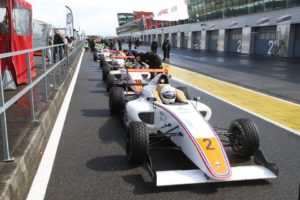Mygale's formula 4 ready to run on Nogaro