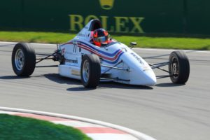 Bertrand Godin driving a Formula Ford 1600 mygale - F1 GP Canada