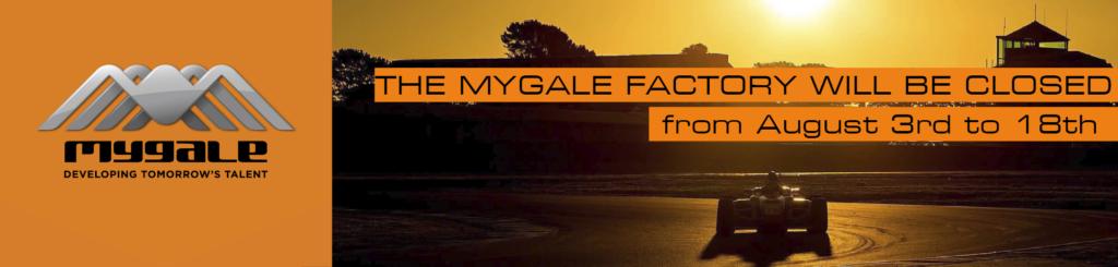 Mygale cars summer break