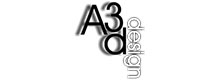 Logo de A3D Design