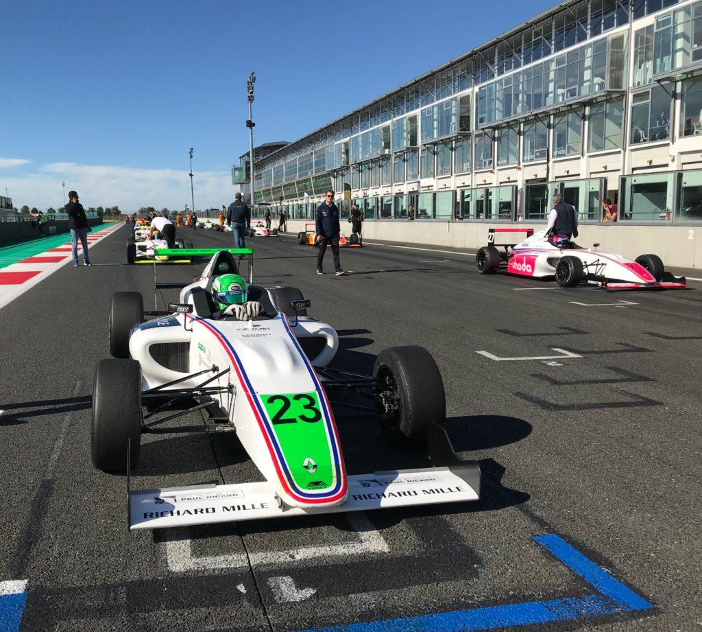 Championnat de France FFSA GT4, les Formules 4 Mygale à Magny-Cours