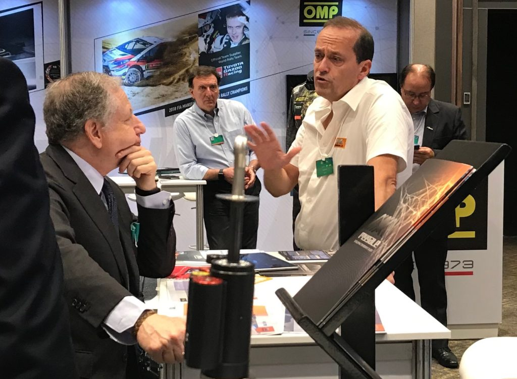 FIA Sport Conference / MotorEx 2019, Jean TODT et Bertrand DECOSTER