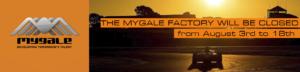 Mygale cars - Fermeture été 2019