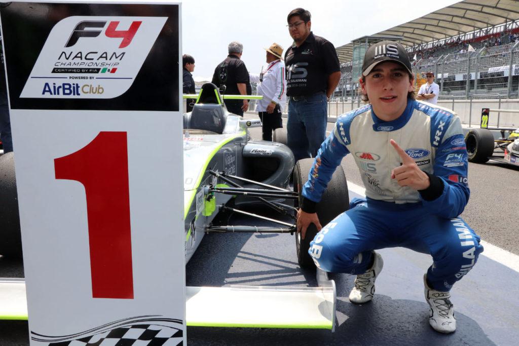 Manuel Sulaiman champion F4 NACAM 2019