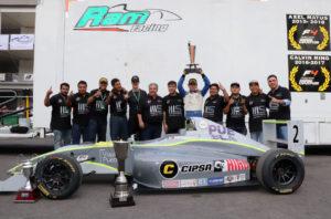 Manuel Sulaiman champion F4 NACAM 2019.4